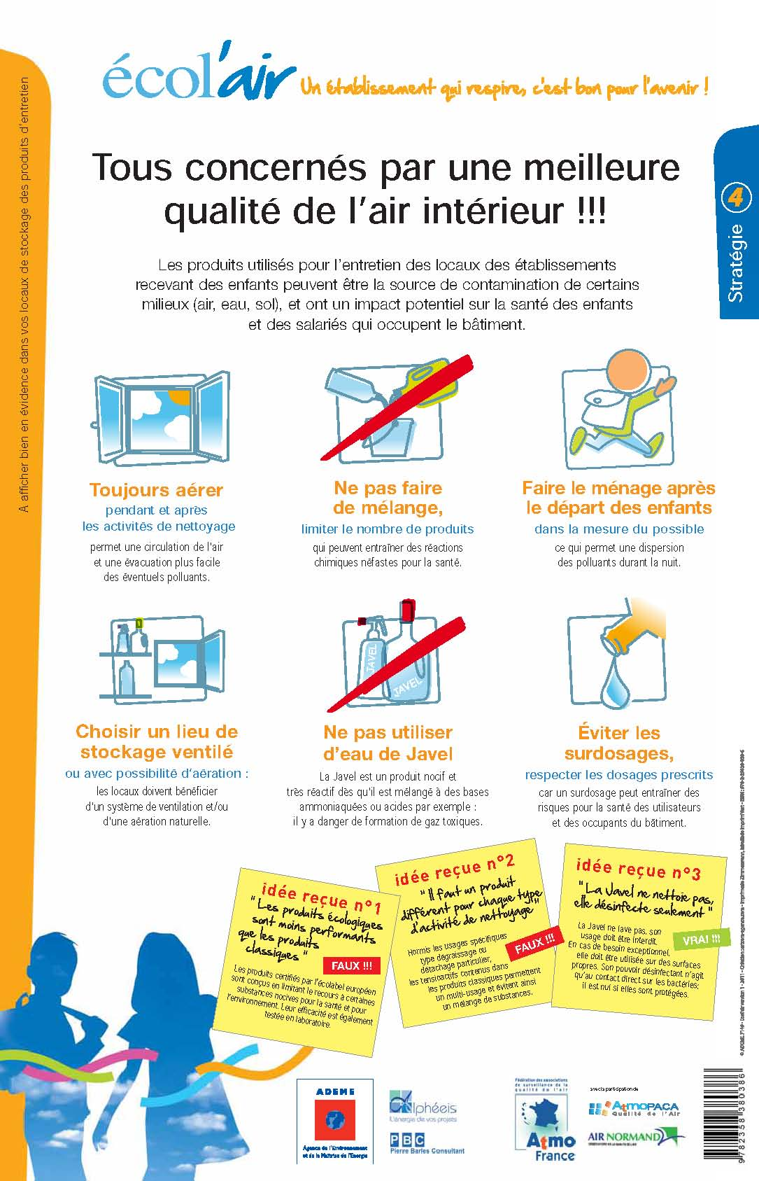 2014 11 ADEME poster air ecoles